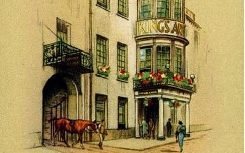 Historic drawing The King's Arms