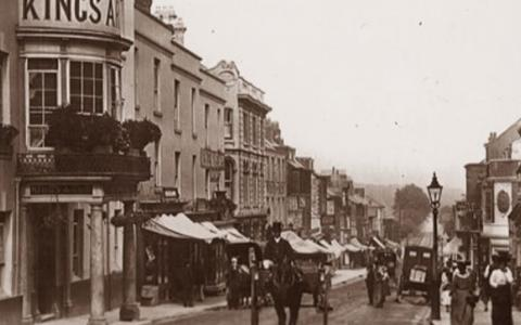 Historic photo The King's Arms